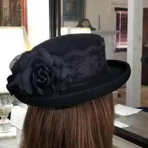 WOOL CLASSIC HAT FOR WOMEN